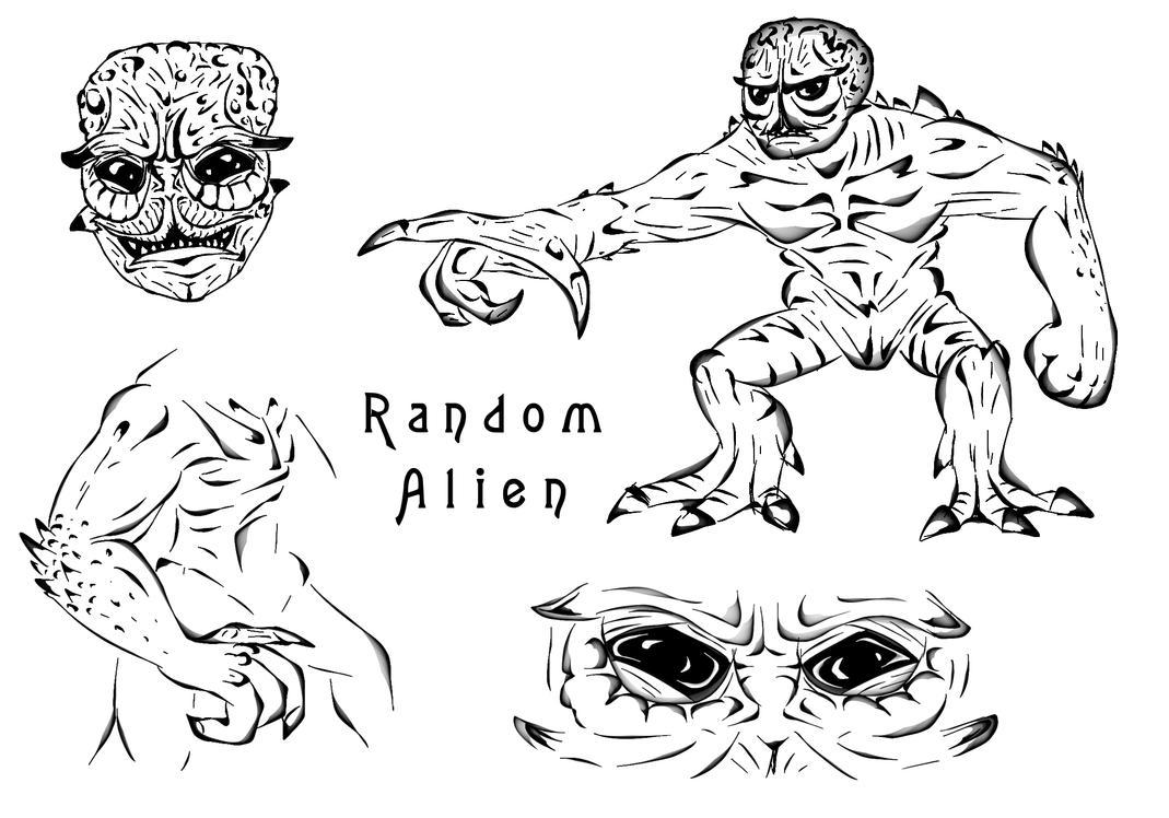 Random Alien Concept by ImmortalTartal