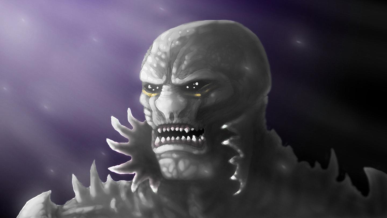 Dark Alien concept by ImmortalTartal