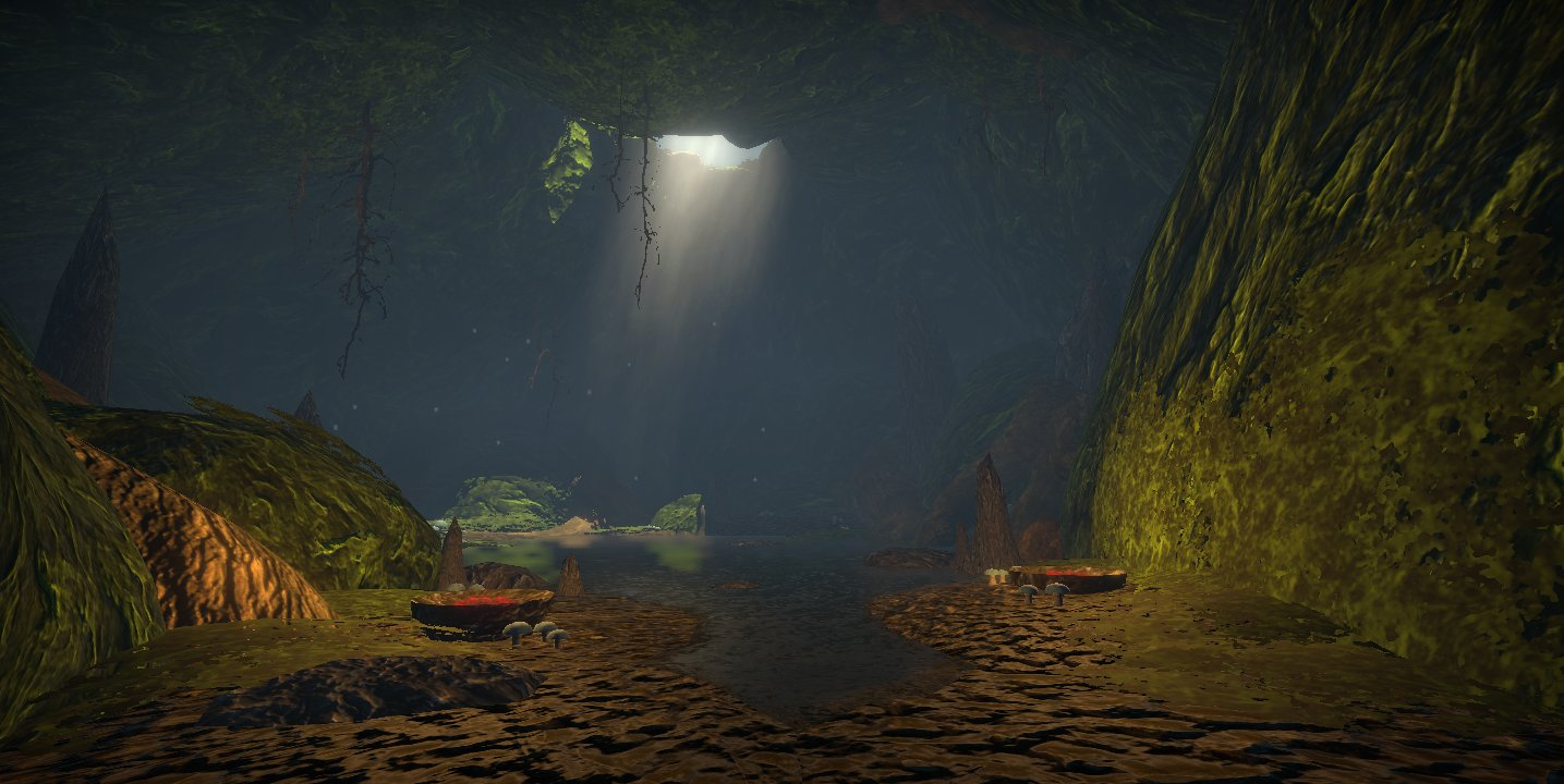 Cave in my game screenshot by ImmortalTartal