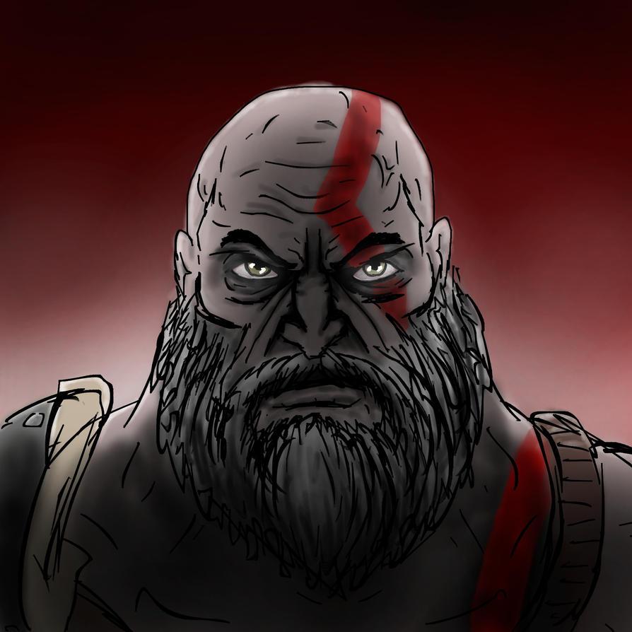 Kratos Speedart by ImmortalTartal