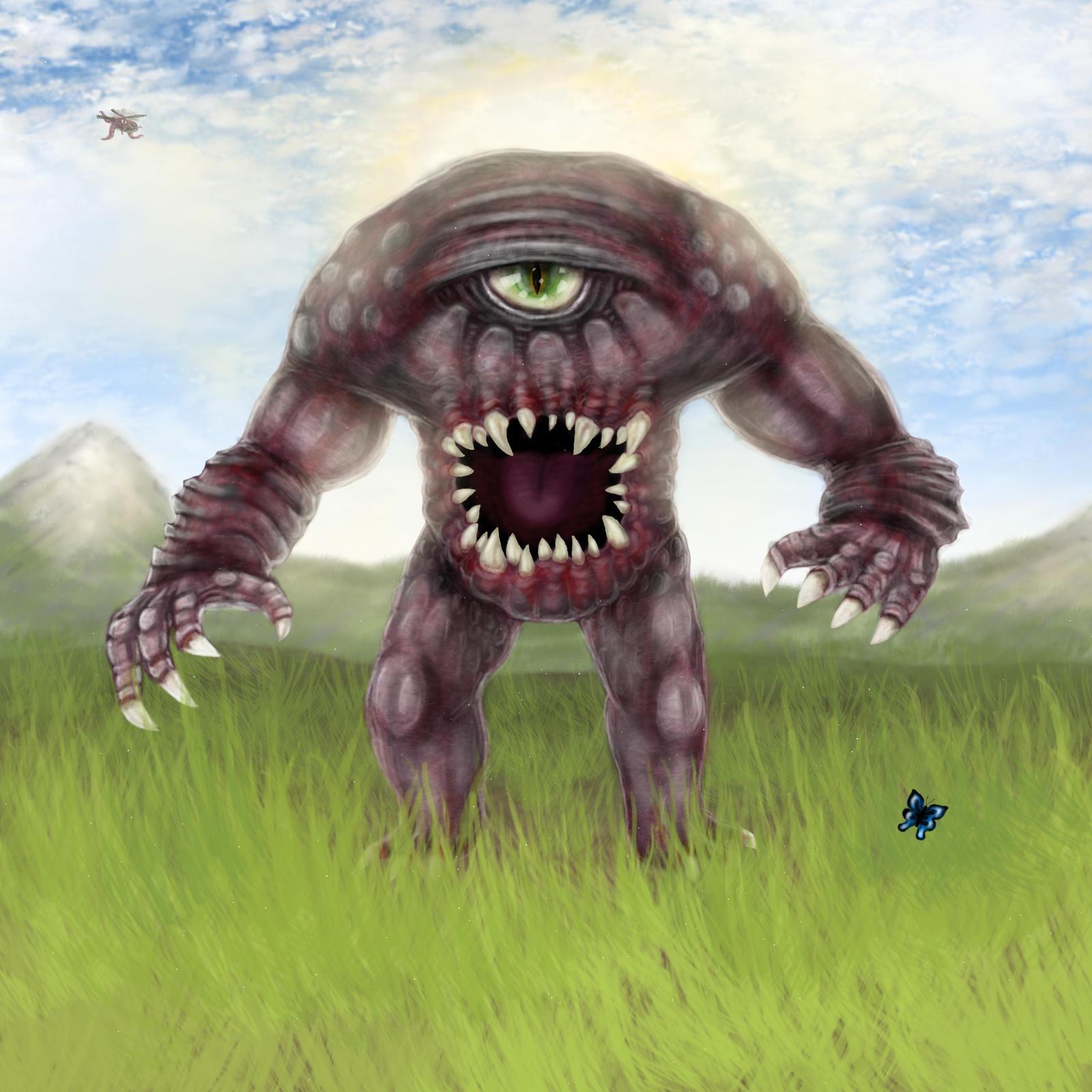 Serious Sam 4: Planet Badass - Gnaar Male by ImmortalTartal