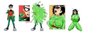Robin Bimbo Slime TF