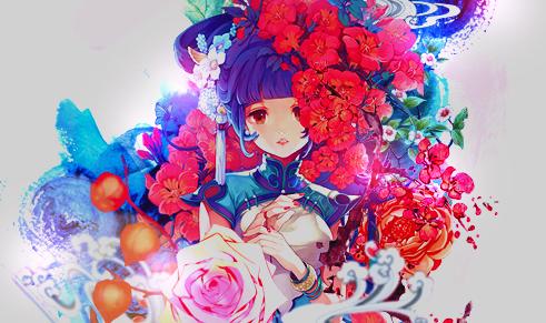 Flower Princess by SereyBeary