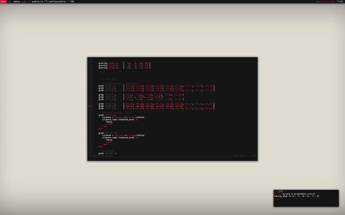 Subtle WM Screenshot by LoloStudio