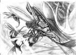 Flying atack