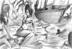 siren in troubled waters