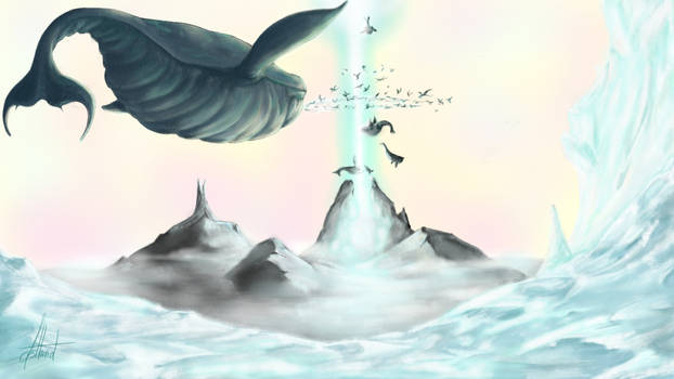 The Andun's frozen sea