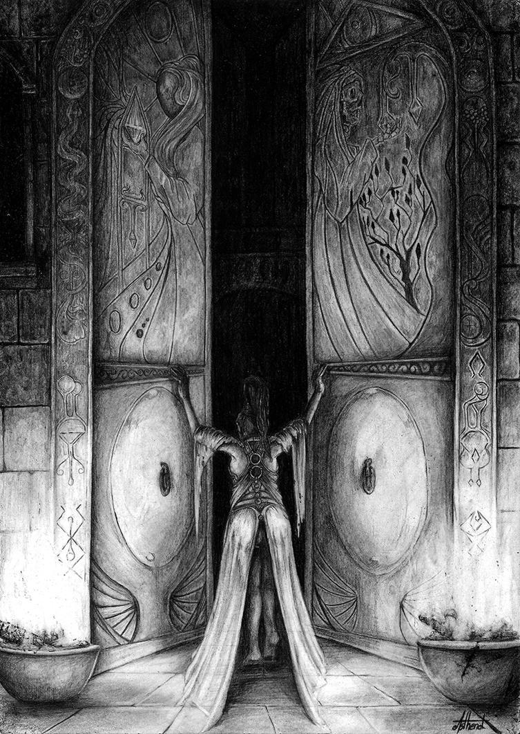 Les portes de la solitude by Asthenot
