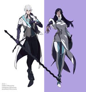 [Sketchpage] Kaisei and Nova