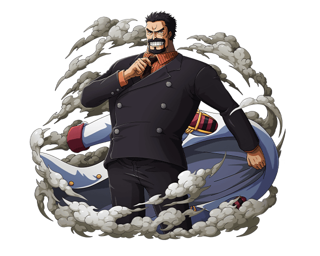 Monkey D. Garp Marine Vice Admiral by bodskih on DeviantArt