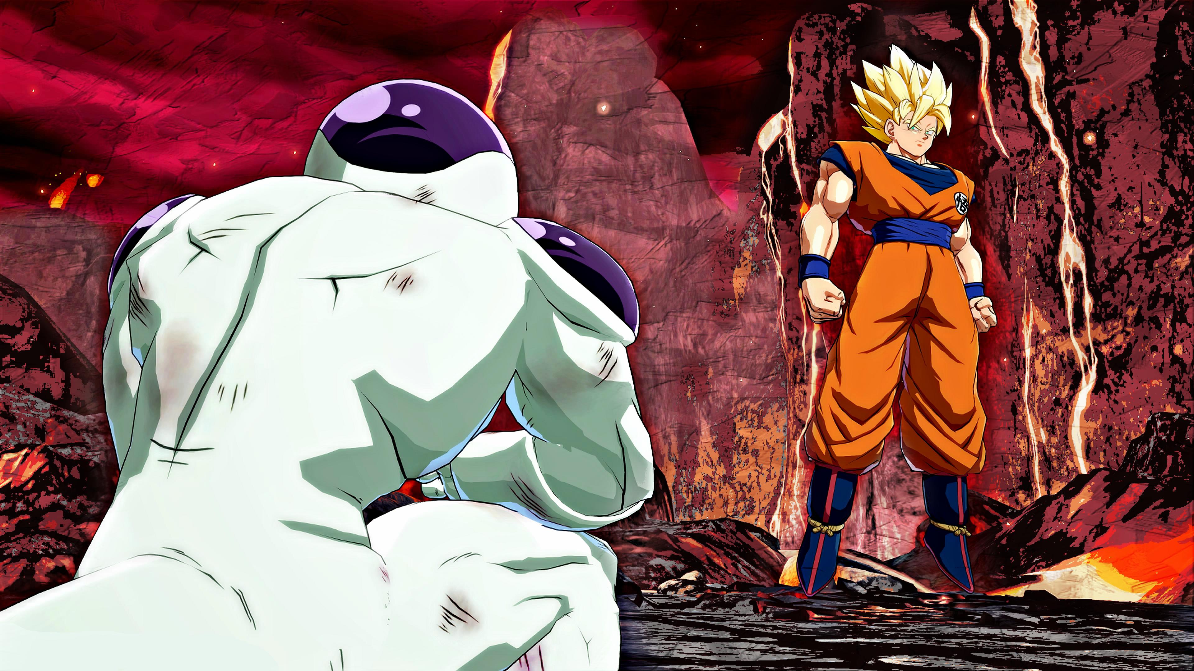 Memes FanartFrieza VS Goku 4K Wallpaper