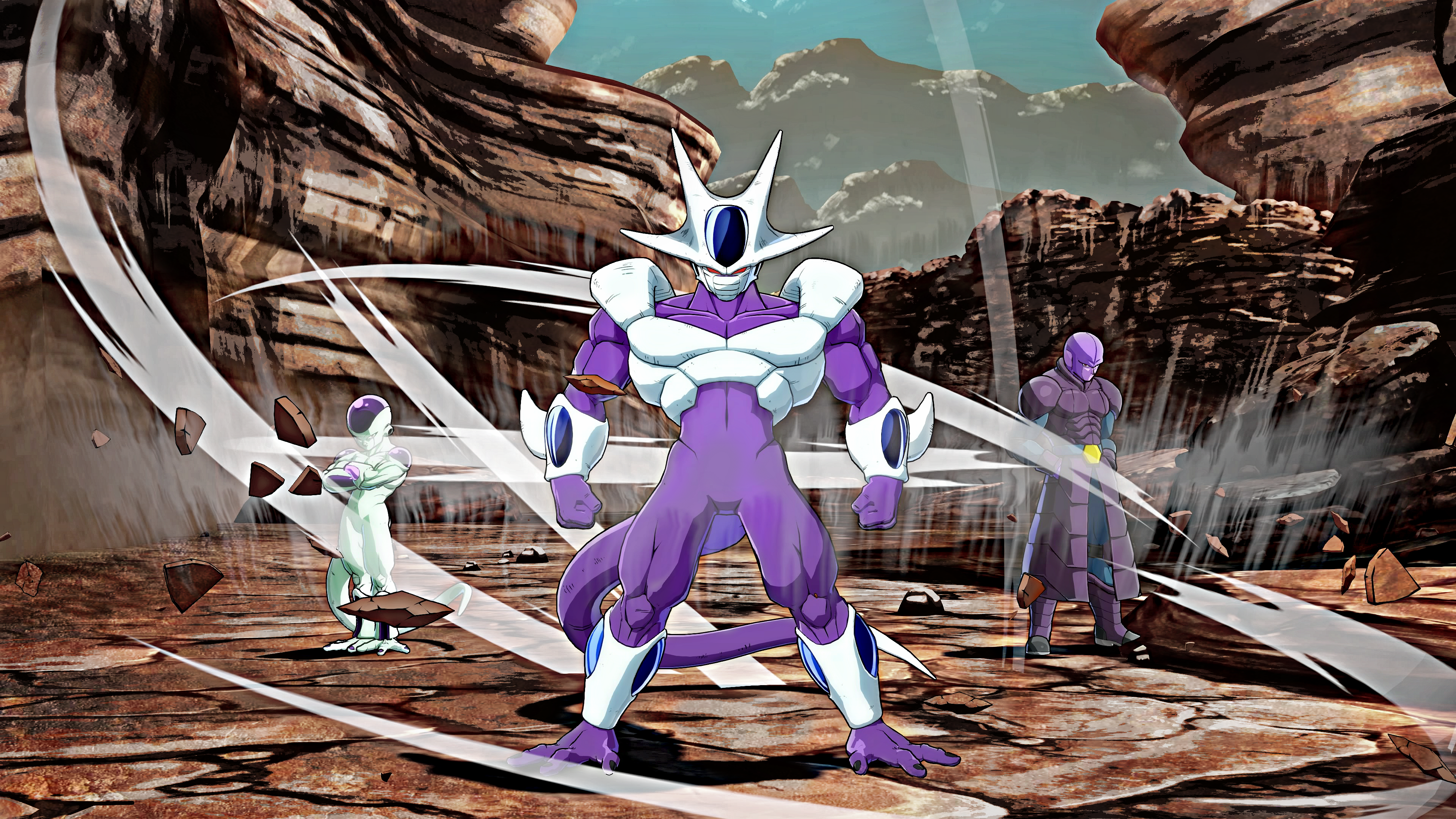 FanartCooler Frieza And Hit 4K Wallpaper
