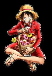 Monkey D. Luffy by bodskih