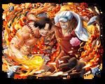 Akainu vs Ace