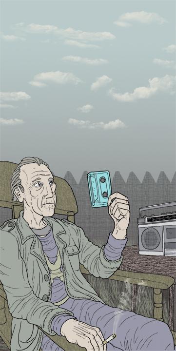 bluecassette