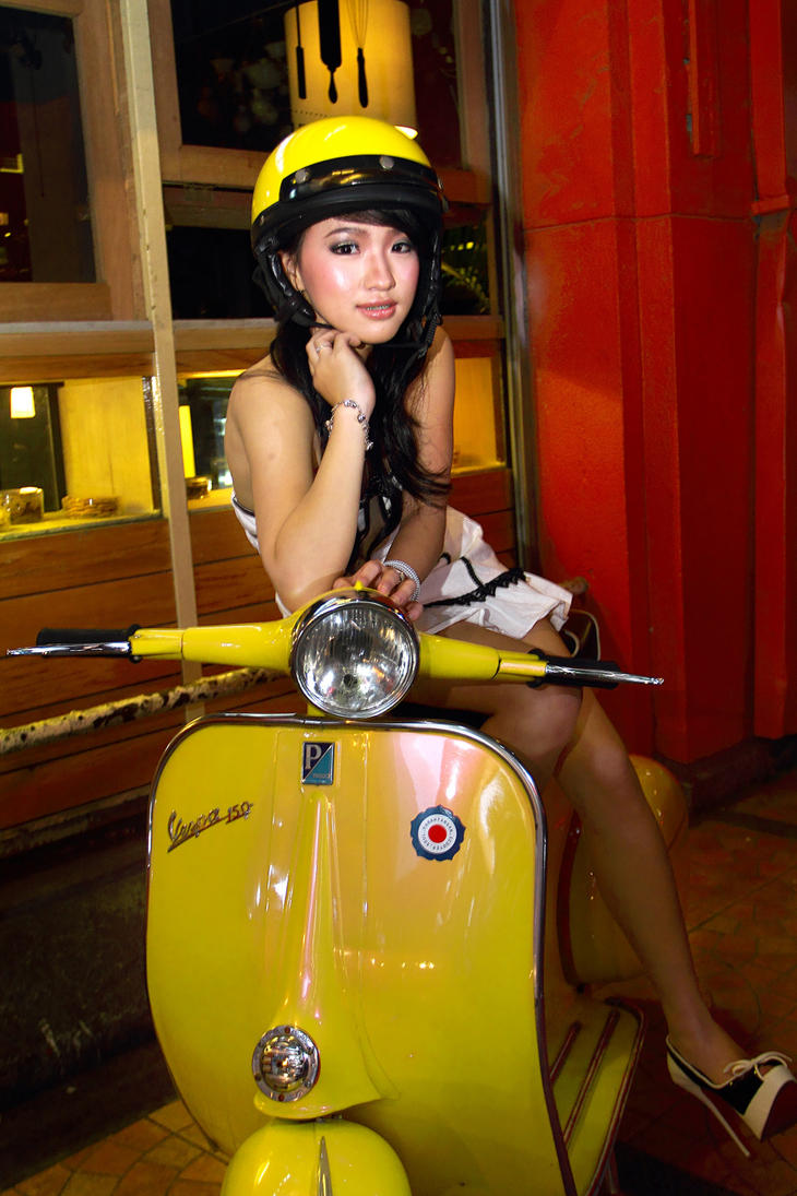 vespa39;s girl by fdjs on DeviantArt