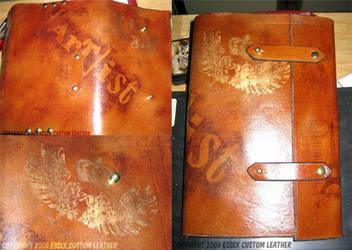 Leather BookWrap: Artist