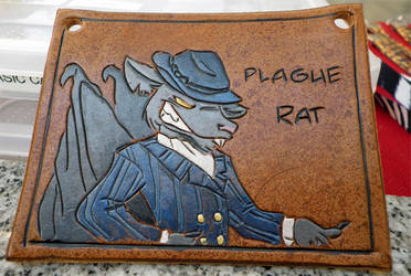 plague rat: character badge