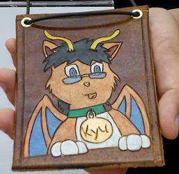 character badge: kyu
