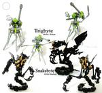 Bytes: Trigbyte + Snakebyte