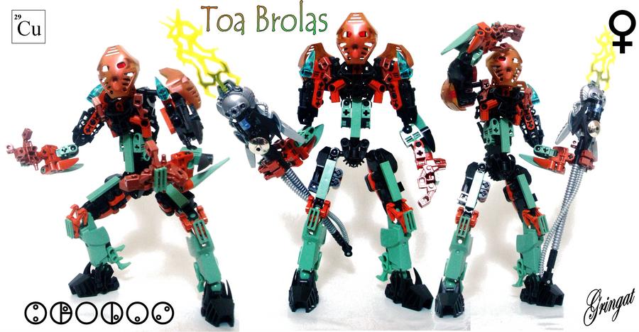 Brolas, Toa of Copper by Lol-Pretzel
