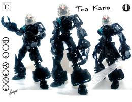 Kana, Toa of Carbon by Lol-Pretzel