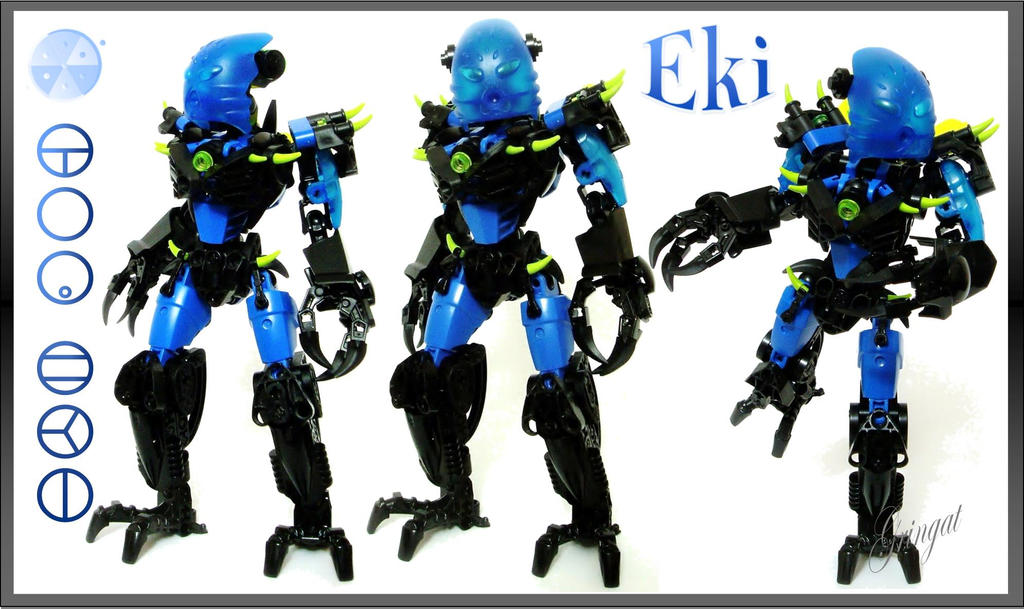 Eki, Toa of Dark Waters by Lol-Pretzel