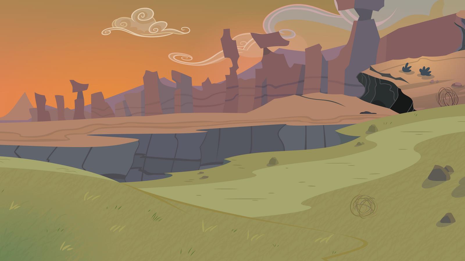 Edge of Equestria by Reginault