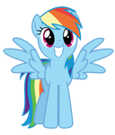 Beaming Rainbow (Dash)