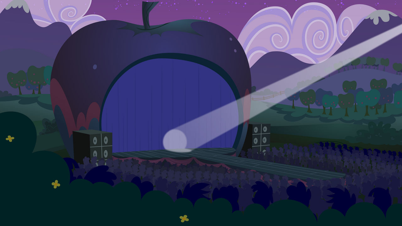 Centre Stage at Ponyville