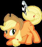 Applejack At The Races