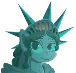 Statue of Pony of Liberty