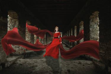 Flowing Red by uptownhustler