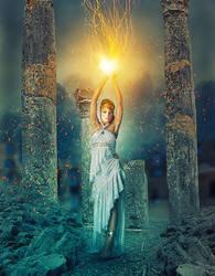 Greek Goddess by uptownhustler