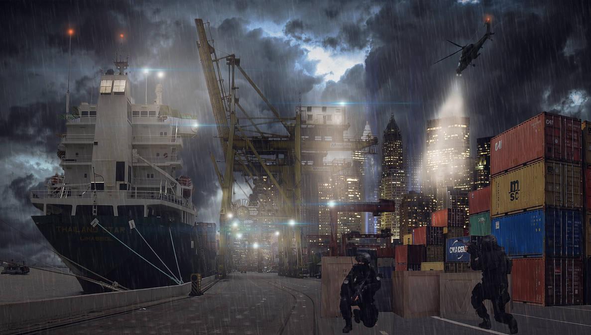 Dock Assault by uptownhustler