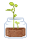 pixel sprout by LlNGERlE