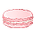 macaron pixel by LlNGERlE
