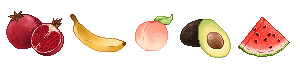 f2u fruit pixel by LlNGERlE