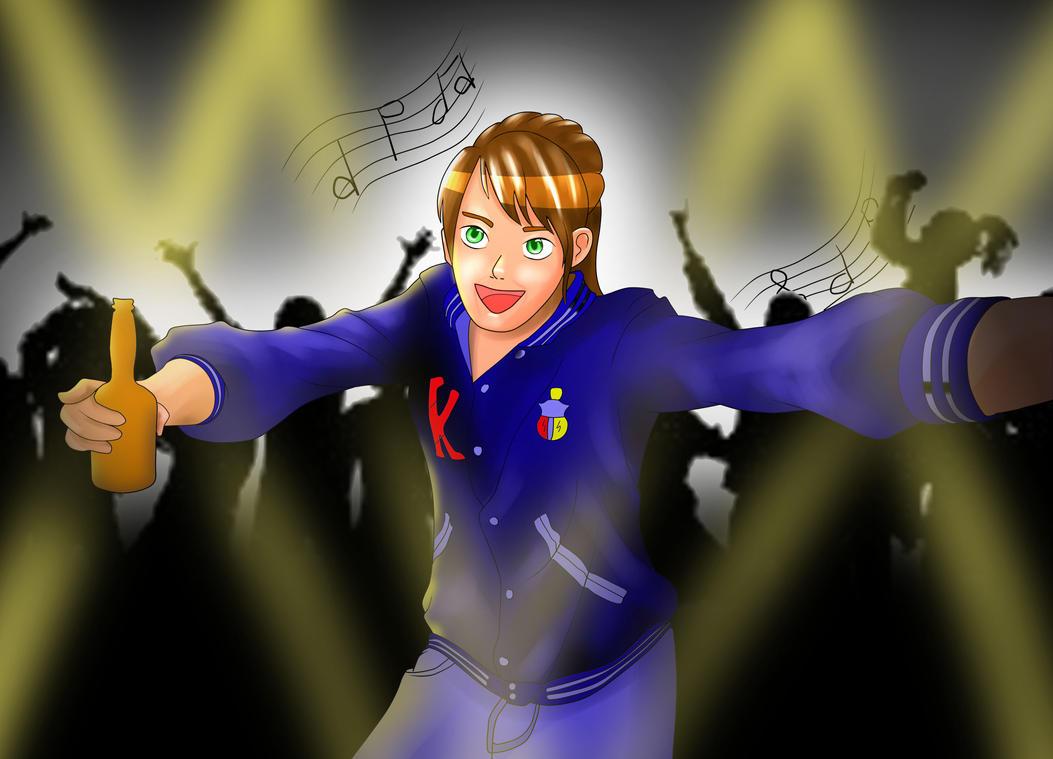 Kieran Rock n Roll! by digitalartistbem