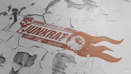 Junkrat Bodyshop and Garage Mockup