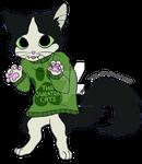 TheSweaterCats Commission: Myboyrobin (Miyavi)