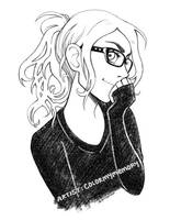 colormymemory - portrait sketch by colormymemory