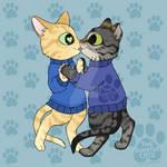 thesweatercats - Kitty Kiss