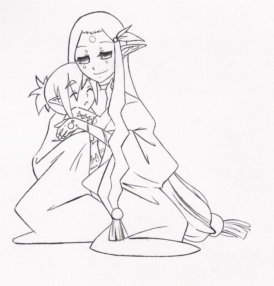 Image Result For Anime Baby Coloring