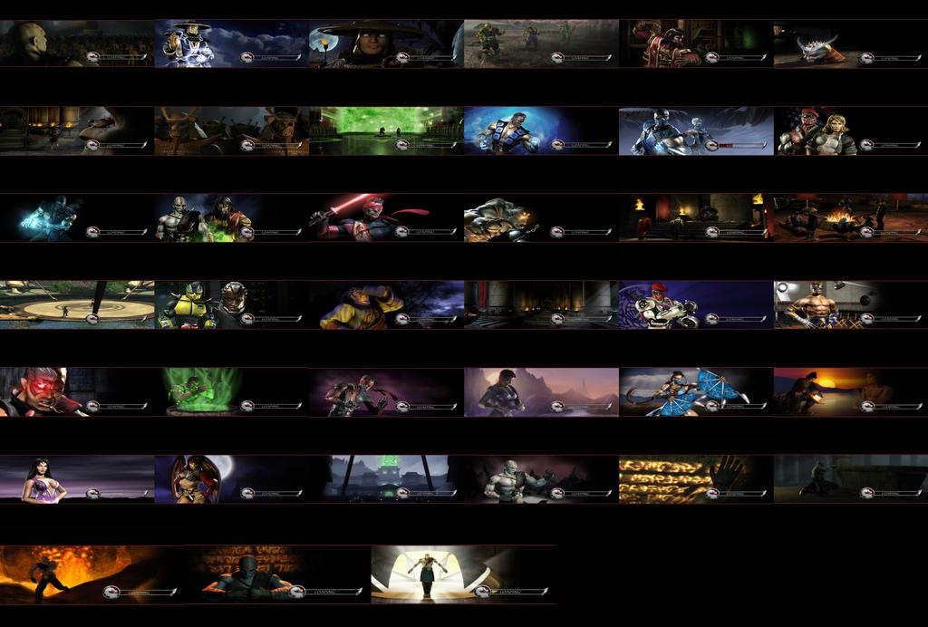 Mortal Kombat: Deadly Alliance - Loading Screens by