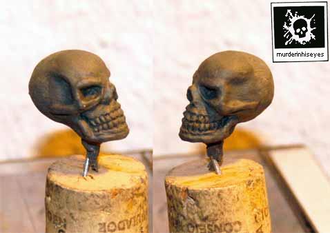 long time no skull by murderinhiseyes