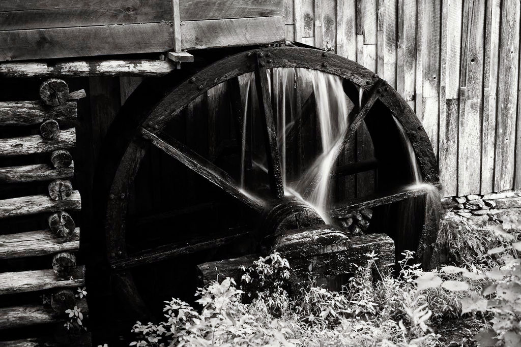 The Water Wheel at the Cable Mill
