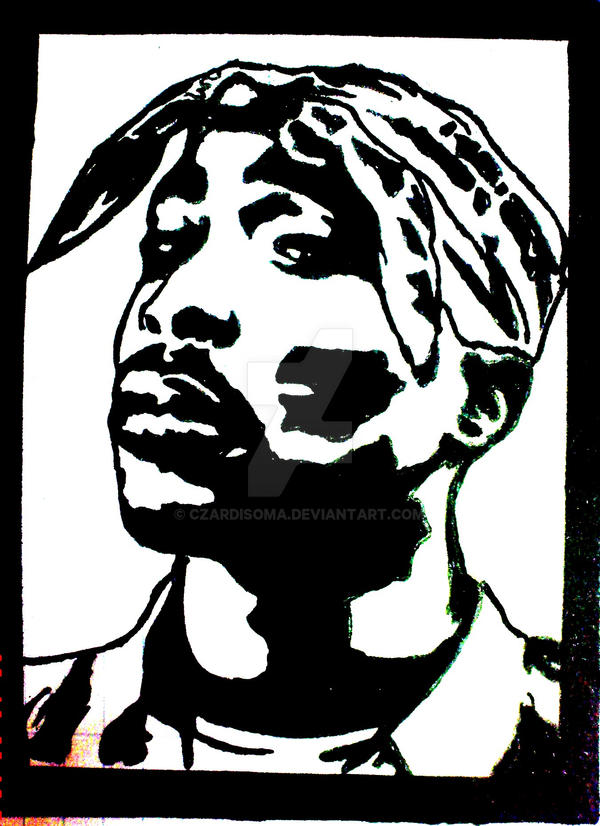 Tupac Amaru Shakur by czardisoma on DeviantArt