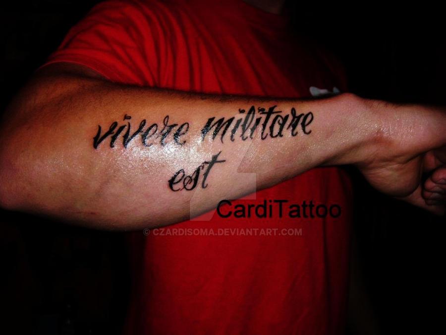 Vivere militare est - это Что такое Vivere militare est?