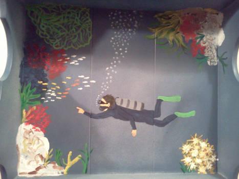 Mermaid shelf top